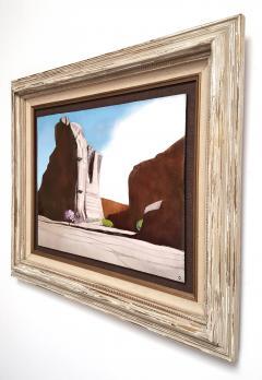 Irwin A Whitaker Canyon De Chelly Enamel by Irwin Whitaker - 1900663