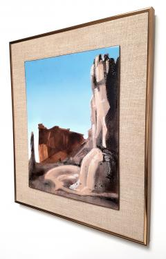 Irwin A Whitaker Capitol Reef Enamel by Irwin Whitaker - 1900647