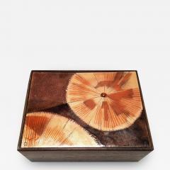 Irwin A Whitaker trinket Box Enamel by Irwin Whitaker - 1901769
