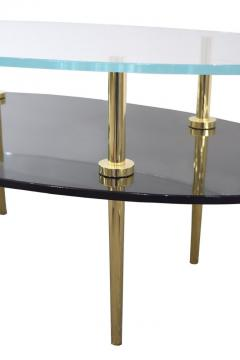 Irwin Feld JILL TIERED GLASS COFFEE TABLE - 1189569