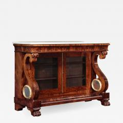 Isaac Jones Classical Carved Mahogany Drawing Room Commode - 743494