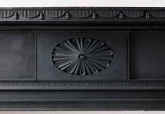 Isaac Powell Carved and Painted Federal Mantelpiece - 850107