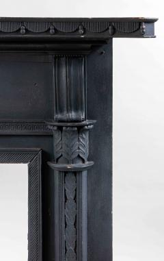 Isaac Powell Carved and Painted Federal Mantelpiece - 850108
