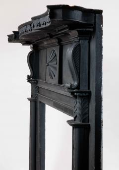 Isaac Powell Carved and Painted Federal Mantelpiece - 850110