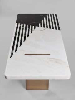 Isabelle Stanislas Ellipse Table - 1154891