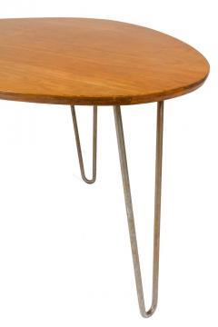 Isamu Noguchi Isamu Noguchi Birch Steel Rudder Dining Table for Herman Miller - 1125484