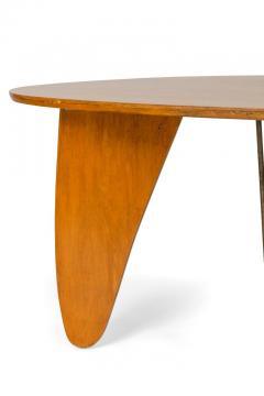 Isamu Noguchi Isamu Noguchi Birch Steel Rudder Dining Table for Herman Miller - 1125485