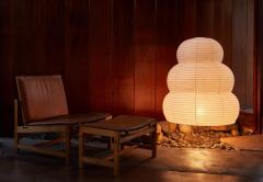 Isamu Noguchi Large Isamu Noguchi Akari 25N Floor Lamp - 971004