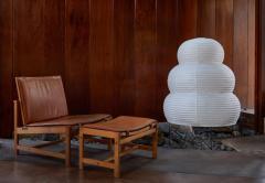 Isamu Noguchi Large Isamu Noguchi Akari 25N Floor Lamp - 971005