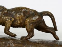 Isidore Bonheur Lion Cub French Antique Bronze Sculpture by Isidore Bonheur and Peyrol - 1107977