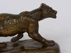 Isidore Bonheur Lion Cub French Antique Bronze Sculpture by Isidore Bonheur and Peyrol - 1107979