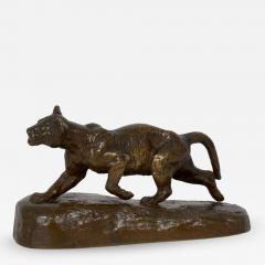 Isidore Bonheur Lion Cub French Antique Bronze Sculpture by Isidore Bonheur and Peyrol - 1108304