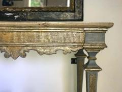 Italian 17th Century Painted and Parcel Gilt Console Table - 1622600