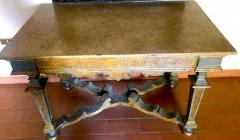 Italian 17th Century Painted and Parcel Gilt Console Table - 1622601