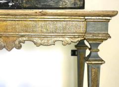 Italian 17th Century Painted and Parcel Gilt Console Table - 1622611
