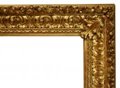 Italian 1850 Baroque Carved Gold Leaf Picture Frame 34x52  - 1071542