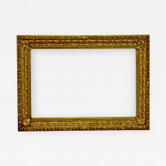 Italian 1850 Baroque Carved Gold Leaf Picture Frame 34x52  - 1071741