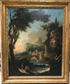 Italian 18th Century Landscape Painting - 590274