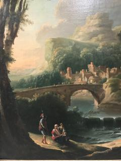 Italian 18th Century Landscape Painting - 590275