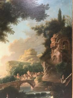 Italian 18th Century Landscape Painting - 590276