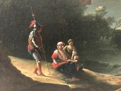 Italian 18th Century Landscape Painting - 590286