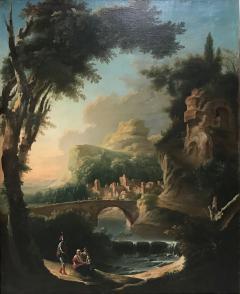 Italian 18th Century Landscape Painting - 591450