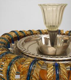 Italian 1940 Murano Metal and Glass Fountain - 471236