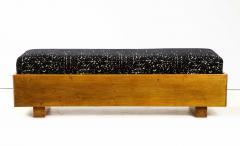 Italian 1940s Walnut Long Bench - 1813643