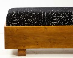 Italian 1940s Walnut Long Bench - 1813645