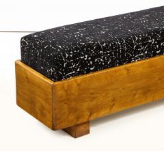 Italian 1940s Walnut Long Bench - 1813661