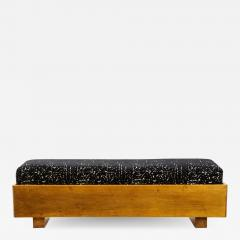 Italian 1940s Walnut Long Bench - 1814080