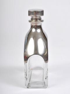 Italian 1950s chrome topped decanter - 806594