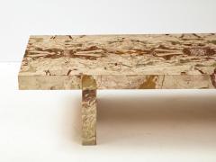 Italian 1970s Marble Rectangular Coffee Table - 2090971