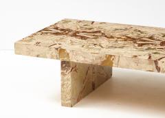 Italian 1970s Marble Rectangular Coffee Table - 2090972