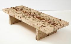 Italian 1970s Marble Rectangular Coffee Table - 2093253
