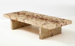 Italian 1970s Marble Rectangular Coffee Table - 2093254