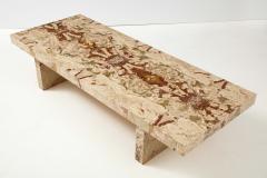 Italian 1970s Marble Rectangular Coffee Table - 2093255