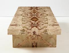 Italian 1970s Marble Rectangular Coffee Table - 2093256