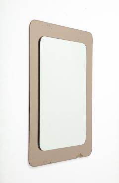 Italian 1970s Rose Gold Mirror - 2096700