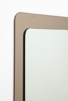 Italian 1970s Rose Gold Mirror - 2096706