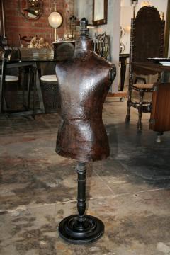 Italian 19th C Leather Dress Model - 500633