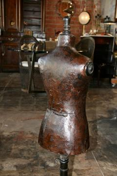 Italian 19th C Leather Dress Model - 500636