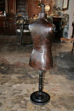 Italian 19th C Leather Dress Model - 500637
