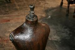 Italian 19th C Leather Dress Model - 500638
