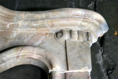 Italian 19th C Marble Fireplace - 498425
