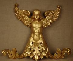 Italian 19th Century Gilded Angel - 1424807