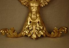 Italian 19th Century Gilded Angel - 1424808