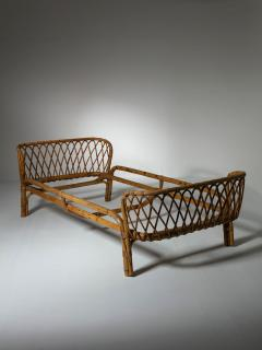 Italian 60s Wicker Daybed - 1457208