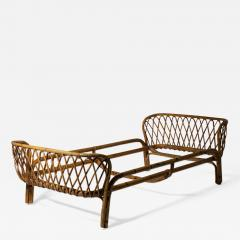 Italian 60s Wicker Daybed - 1457401