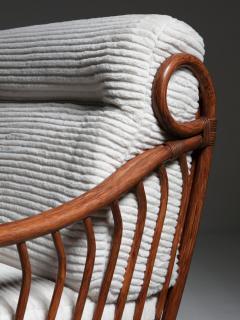 Italian 60s Wicker Lounge Chairs - 1502081